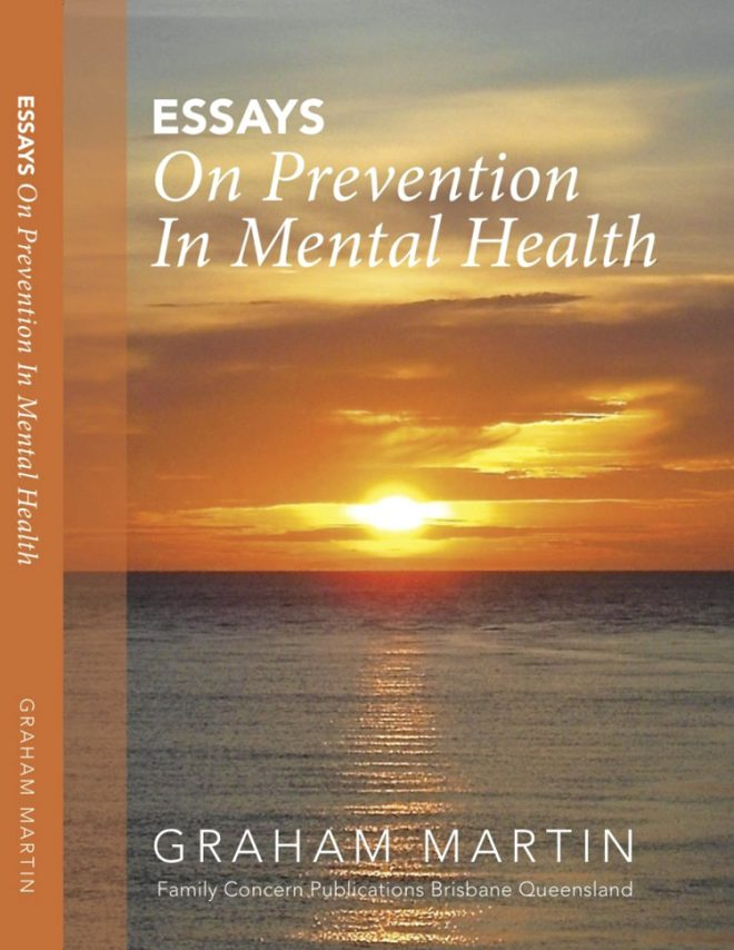 essays on prevention in mental health  family concern publishing